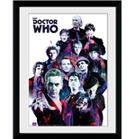 Doctor Who - Cosmos (Foto In Cornice 30x40cm)