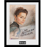 Doctor Who - Clara Painting (Foto In Cornice 30x40cm)