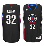 Maglia Los Angeles Clippers Blake Griffin adidas New Swingman Alternate Nero