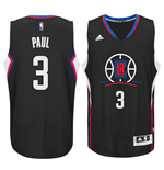 Maglia Los Angeles Clippers Chris Paul adidas New Swingman Alternate Nero