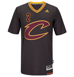 Maglia Cleveland Cavaliers Kyrie Irving adidas Black New Swingman