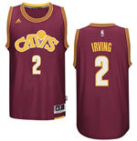 Maglia Cleveland Cavaliers Kyrie Irving adidas Hardwood Classic Swingman Bordeaux