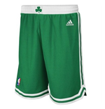 Shorts adidas Boston Celtics New Swingman verdi