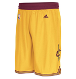 Shorts adidas Cleveland Cavaliers Swingman gialli