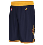 Shorts adidas Cleveland Cavaliers Swingman  colore Blue Navy