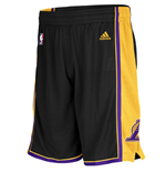 Shorts adidas Los Angeles Lakers Hollywood Nights New Swingman neri