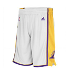 Shorts adidas Los Angeles Lakers New Swingman bianchi