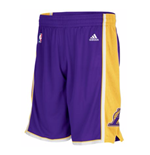 Shorts adidas Los Angeles Lakers New Swingman viola