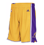 Shorts adidas Los Angeles Lakers New Swingman gialli