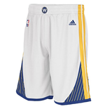 Shorts adidas Golden State Warriors New Swingman bianchi