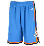 Shorts adidas Oklahoma City Thunder New Swingman azzurri