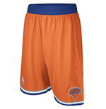 Shorts adidas New York Knicks Swingman arancio
