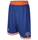 Shorts adidas New York Knicks Swingman blu