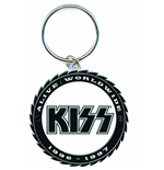Kiss - Buzz Saw Logo (Portachiavi Metallo)
