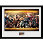 Street Fighter - Characters (Foto In Cornice 30x40cm)