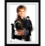 Sherlock - Friends Protect (Foto In Cornice 30x40cm)