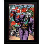 Dc Comics - Joker Teeth (Foto In Cornice 30x40cm)