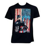 T-shirt Capitan America Civil War Patriotic Captain