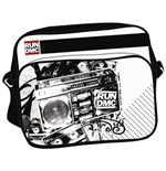 Run Dmc - White With Black Printing (Borsa Tracolla)