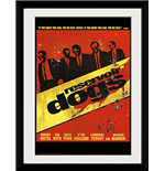 Reservoir Dogs - Walk - Framed Photo 30x40 Cm