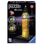 Ravensburger 12588 - Puzzle 3D Night Edition - Big Ben Con Luce
