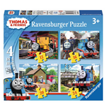 Ravensburger 07070 - Puzzle 4 In A Box - Thomas And Friends
