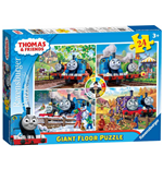 Ravensburger 05378 - Puzzle Da Pavimento 24 Pz - Thomas And Friends - Le Quattro Stagioni