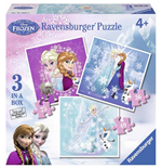 Ravensburger 07003 - Puzzle Progressive 3 In A Box - Frozen