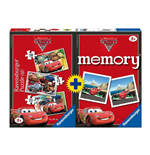Ravensburger 07227 - Multipack Memory + 3 Puzzle - Cars 2