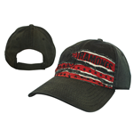 Ramones - Black Washed With Red Fabric&Shield (Cappellino)