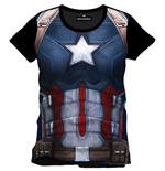 T-shirt Captain America Civil War Cap Chest