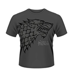 T-shirt Il trono di Spade (Game of Thrones) Direwolf