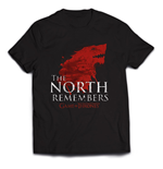 T-shirt Il trono di Spade (Game of Thrones) The North Remembers