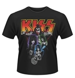 T-shirt Kiss Neon Band