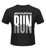 T-shirt Awolnation Run