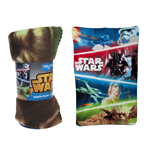 Star Wars - Characters Fleece Blanket Multicolor 100x150 Cm