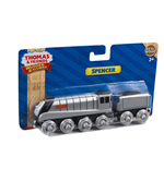 Mattel Y4074 - Thomas And Friends - Wooden Railway - Veicolo Spencer Large