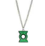 Green Lantern - Pave Green Lantern Necklace