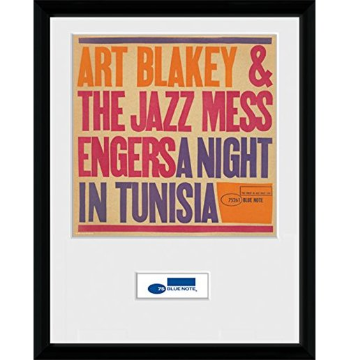 Blue Note * - Tunisia - Framed Photo 30x40 Cm
