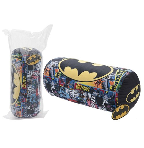 Batman - Logo Bolster Cushion Multicolor 40 Cm - Cuscino Rotolo 40 Cm per soli € 24,99 su ...