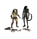 Alien And Predator Mini Comic Action Figure