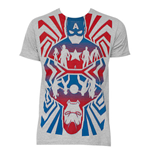 T-shirt Captain America Opposing Forces