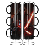 Set Tazze Star Wars Episode VII Kylo Lightsaber