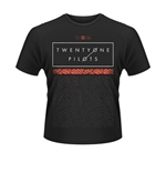 T-shirt Twenty One Pilots Scale Pattern Strip
