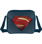 Batman V Superman - Superman Logo Messenger Bag Blue/Black (Borsa A Tracolla)