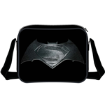 Batman V Superman - Steel Print Logo Messenger Bag Black (Borsa A Tracolla)