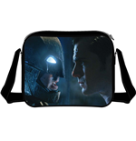 Batman V Superman - Face To Face Messenger Bag Black (Borsa A Tracolla)