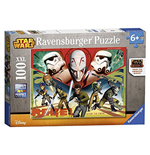 Ravensburger 10563 - Puzzle XXL 100 Pz - Star Wars - Rebels