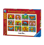 Ravensburger 15615 - Puzzle 1000 Pz - Arte - Keith Haring