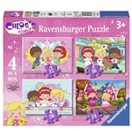 Ravensburger 07031 - Puzzle 4 In A Box - L'Armadio Di Chloe'